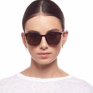 Le Specs Le Danzig Tort/Gold Polarized Sunglasses